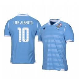 2019/20 Lazio Luis Alberto Home Short Sleeve Authentic Jersey