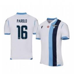 2019/20 Marco Parolo Lazio Away Short Sleeve Authentic Jersey