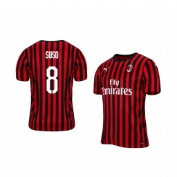 2019/20 AC Milan Suso Home Short Sleeve Authentic Jersey