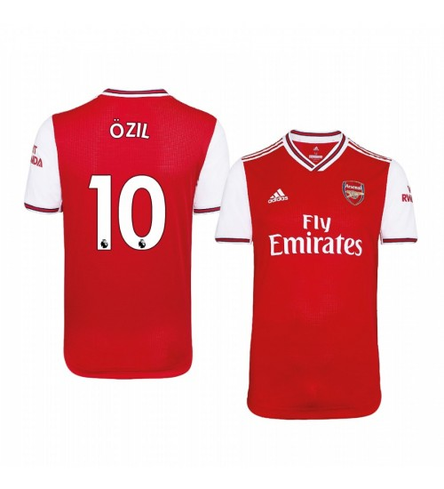2019/20 Mesut Ozil Arsenal Home Short Sleeve Authentic Jersey