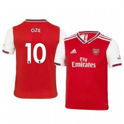 Youth 2019/20 Mesut Ozil Arsenal Home Short Sleeve Authentic Jersey