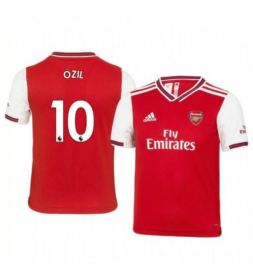 Youth 2019/20 Mesut Ozil Arsenal Home Short Sleeve Replica Jersey