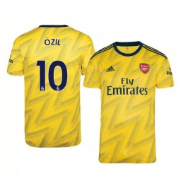 2019/20 Mesut Ozil Arsenal Away Short Sleeve Authentic Jersey