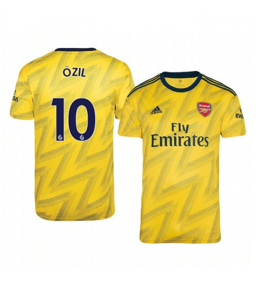 2019/20 Mesut Ozil Arsenal Away Short Sleeve Replica Jersey