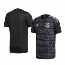 Mexico Custom Home 2019 Gold Cup Short Sleeve Authentic Jersey