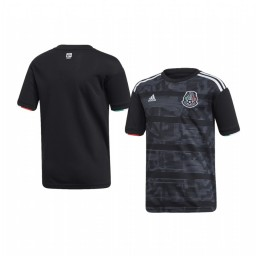 Youth Mexico Custom Home 2019 Gold Cup Short Sleeve Authentic Jersey