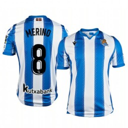 2019/20 Mikel Merino Real Sociedad Home Authentic Jersey