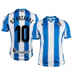 2019/20 Mikel Oyarzabal Real Sociedad Home Authentic Jersey
