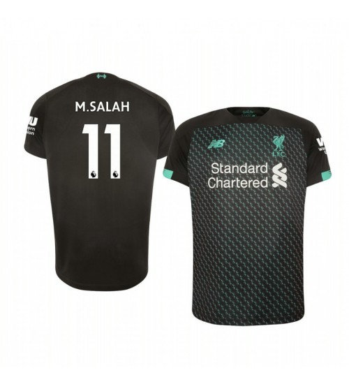 Youth 2019/20 Liverpool Mohamed Salah Authentic Jersey Alternate Third
