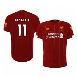 2019/20 Mohamed Salah Liverpool Home Authentic Jersey