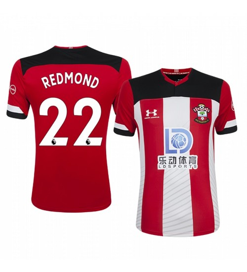 2019/20 Nathan Redmond Southampton Home Short Sleeve Authentic Jersey