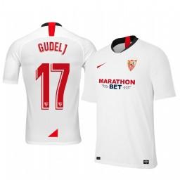 2019/20 Nemanja Gudelj Sevilla Home Authentic Jersey