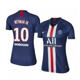 Women's 2019/20 Paris Saint-Germain Neymar JR Home Authentic Jersey