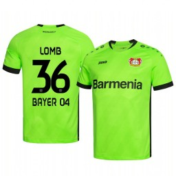 2019/20 Bayer Leverkusen Niklas Lomb Green Goalkeeper Official Authentic Jersey