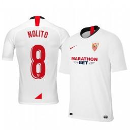 2019/20 Nolito Sevilla Home Authentic Jersey