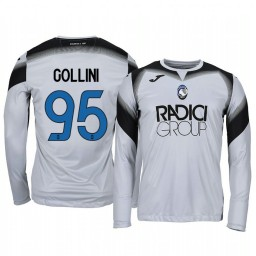 2019/20 Atalanta Pierluigi Gollini Gray Goalkeeper Long Sleeve Authentic Jersey