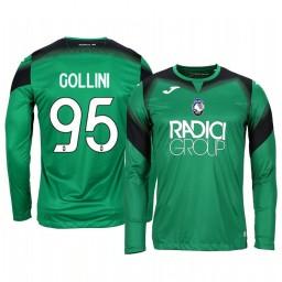 2019/20 Atalanta Pierluigi Gollini Green Goalkeeper Long Sleeve Authentic Jersey