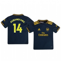 Youth 2019/20 Arsenal Pierre-Emerick Aubameyang Replica Jersey Alternate Third