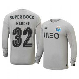 2019/20 Porto Agustin Marchesin Gray Goalkeeper Away Authentic Jersey