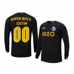 Youth 2019/20 Porto Custom Black Goalkeeper Home Authentic Jersey