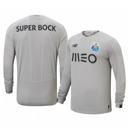 2019/20 Porto Gray Goalkeeper Away Authentic Jersey