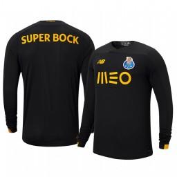 2019/20 Porto Black Goalkeeper Home Authentic Jersey