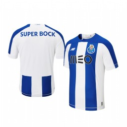 Youth 2019/20 Porto Home Blue White Official Short Sleeve Authentic Jersey