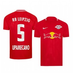 2019/20 Dayot Upamecano RB Leipzig Fourth Red Short Sleeve Authentic Jersey