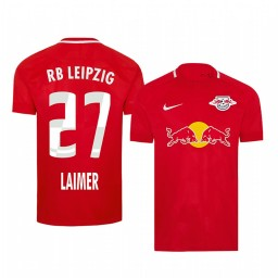 2019/20 Konrad Laimer RB Leipzig Fourth Red Short Sleeve Authentic Jersey