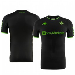 2019/20 Real Betis Black Away Short Sleeve Authentic Jersey