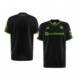 Youth 2019/20 Real Betis Black Away Short Sleeve Authentic Jersey