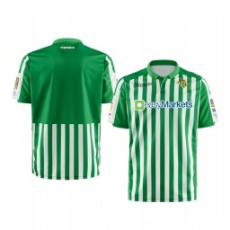 Youth 2019/20 Real Betis Green Home Short Sleeve Authentic Jersey