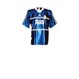 Real Madrid Royal Away Short Sleeve Authentic Jersey 1998-2000