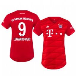 Women's 2019/20 Bayern Munich Robert Lewandowski Home Authentic Jersey