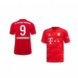 Youth 2019/20 Bayern Munich Robert Lewandowski Home Authentic Jersey