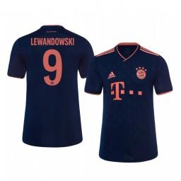Youth 2019/20 Bayern Munich Robert Lewandowski Authentic Jersey Alternate Third