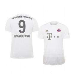 Youth 2019/20 Bayern Munich Robert Lewandowski White Away Authentic Jersey