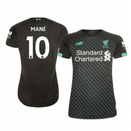 Women's 2019/20 Liverpool Sadio Mané Authentic Jersey Alternate Third