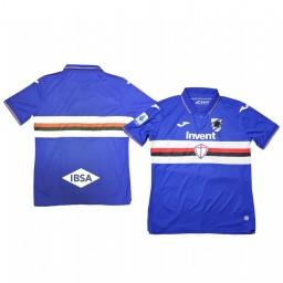 2019/20 Sampdoria Home Blue Short Sleeve Authentic Jersey