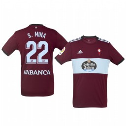 2019/20 Celta de Vigo Santi Mina Away Short Sleeve Authentic Jersey