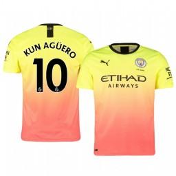 2019/20 Manchester City Sergio Agüero Authentic Jersey Alternate Third
