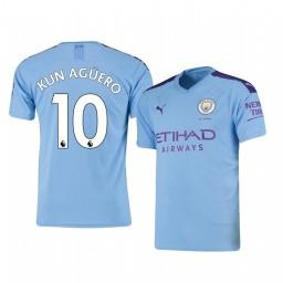 2019/20 Sergio Agüero Manchester City Home Authentic Jersey