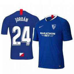 2019/20 Joan Jordan Sevilla Third Blue Short Sleeve Authentic Jersey