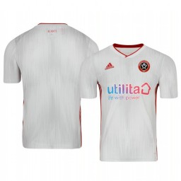 Youth 2019/20 Sheffield United Away White Short Sleeve Authentic Jersey