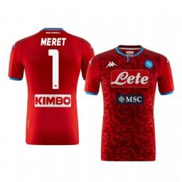 2019/20 SSC Napoli Alex Meret Goalkeeper Authentic Short Sleeve Authentic Jersey