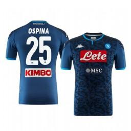 2019/20 SSC Napoli David Ospina Goalkeeper Authentic Short Sleeve Authentic Jersey