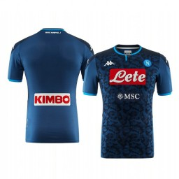 2019/20 SSC Napoli Goalkeeper Authentic Short Sleeve Authentic Jersey