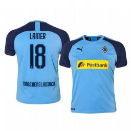 2019/20 Borussia Monchengladbach Stefan Lainer Blue Away Authentic Jersey