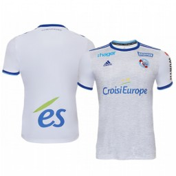 2019/20 Strasbourg White Away Authentic Jersey