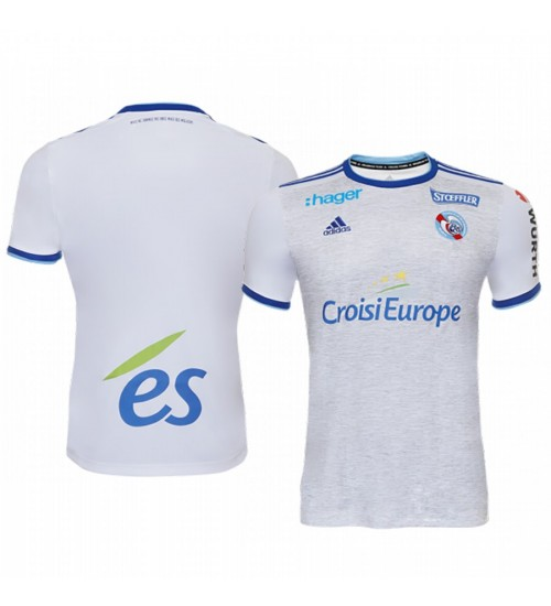 2019/20 Strasbourg White Away Replica Jersey